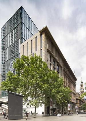5 Martin Place (NSW) by JPW and TKD architects in collaboration.