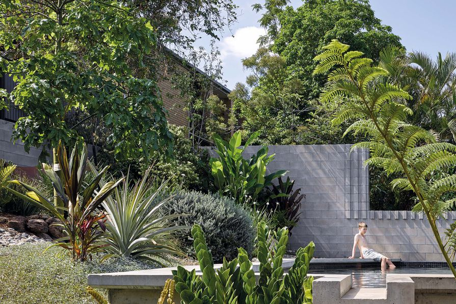 Whynot St Pool and Carport by Kieron Gait Architects with Dan Young Landscape Architect