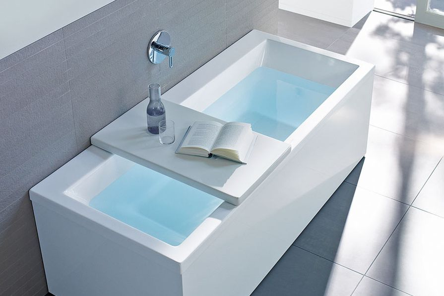 Universal bath covers.