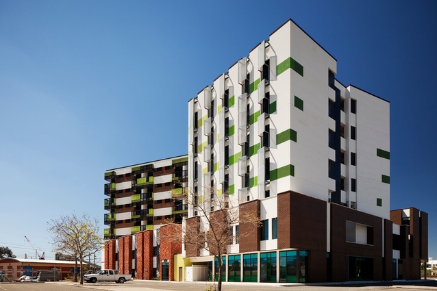 Lime Street by Formworks Architecture won The Harold Krantz Award for Residential Architecture – Multiple Housing at the 2013 WA Architecture Awards.
