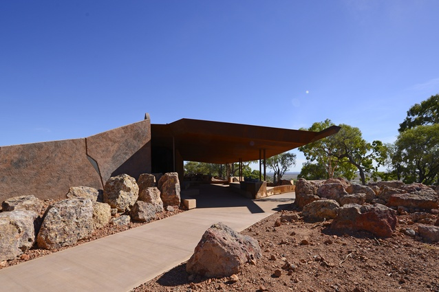 Dinosaur Canyon Outpost by Cox Architecture.