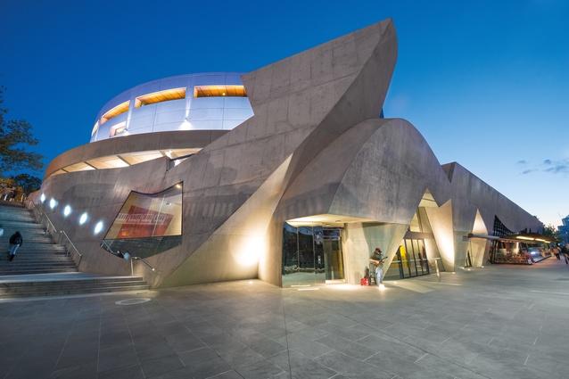 Hamer Hall Redevelopment, Melbourne (2012).