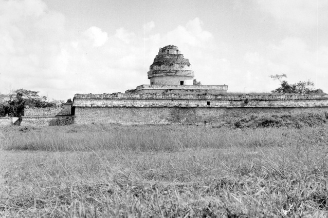 Utzon's photograph from Mexico, 1949.