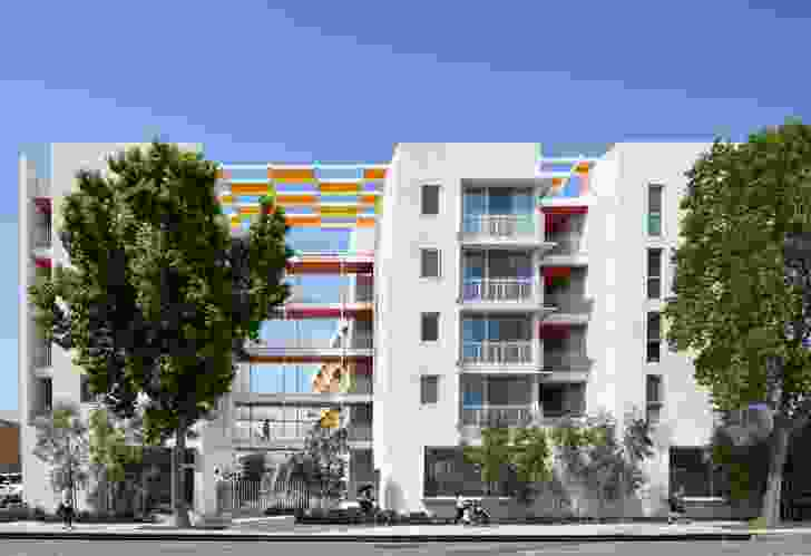 Award for Residential Architecture – Multiple Housing: The Arroyo Affordable Housing (USA) by Koning Eizenberg Architecture.