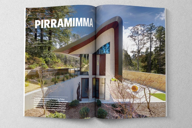 Pirramimma designed by Peter Stutchbury Architecture.