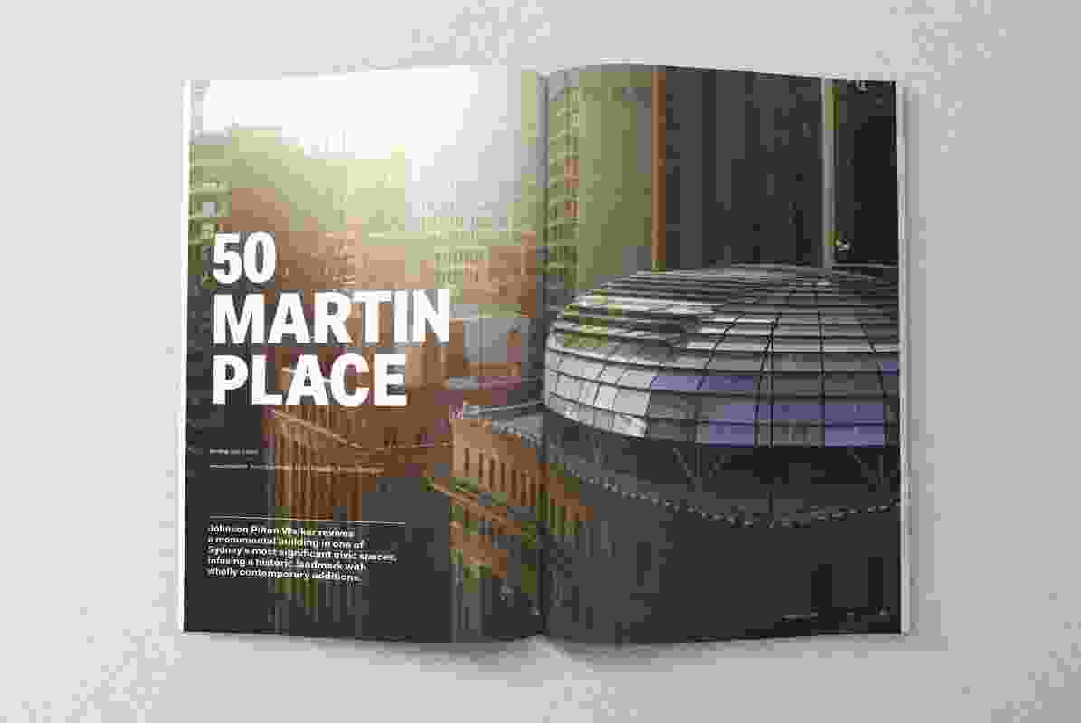 50 Martin Place by Johnson Pilton Walker.