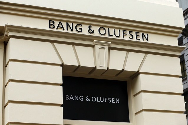 Bang and Olufsen's flagship store on Russell Street in Melbourne.