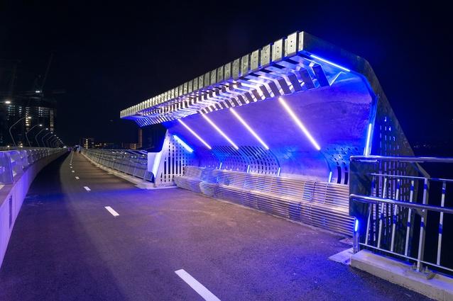 The Bennelong Bridge by VSL/Brady and Scott Carver Architects.