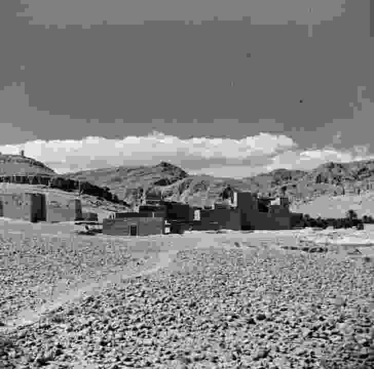 Utzon's photograph from Morocco, 1947.