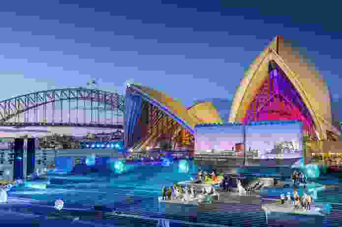 The Monumental Steps was the set of Sydney Opera House – The Opera (The Eighth Wonder).