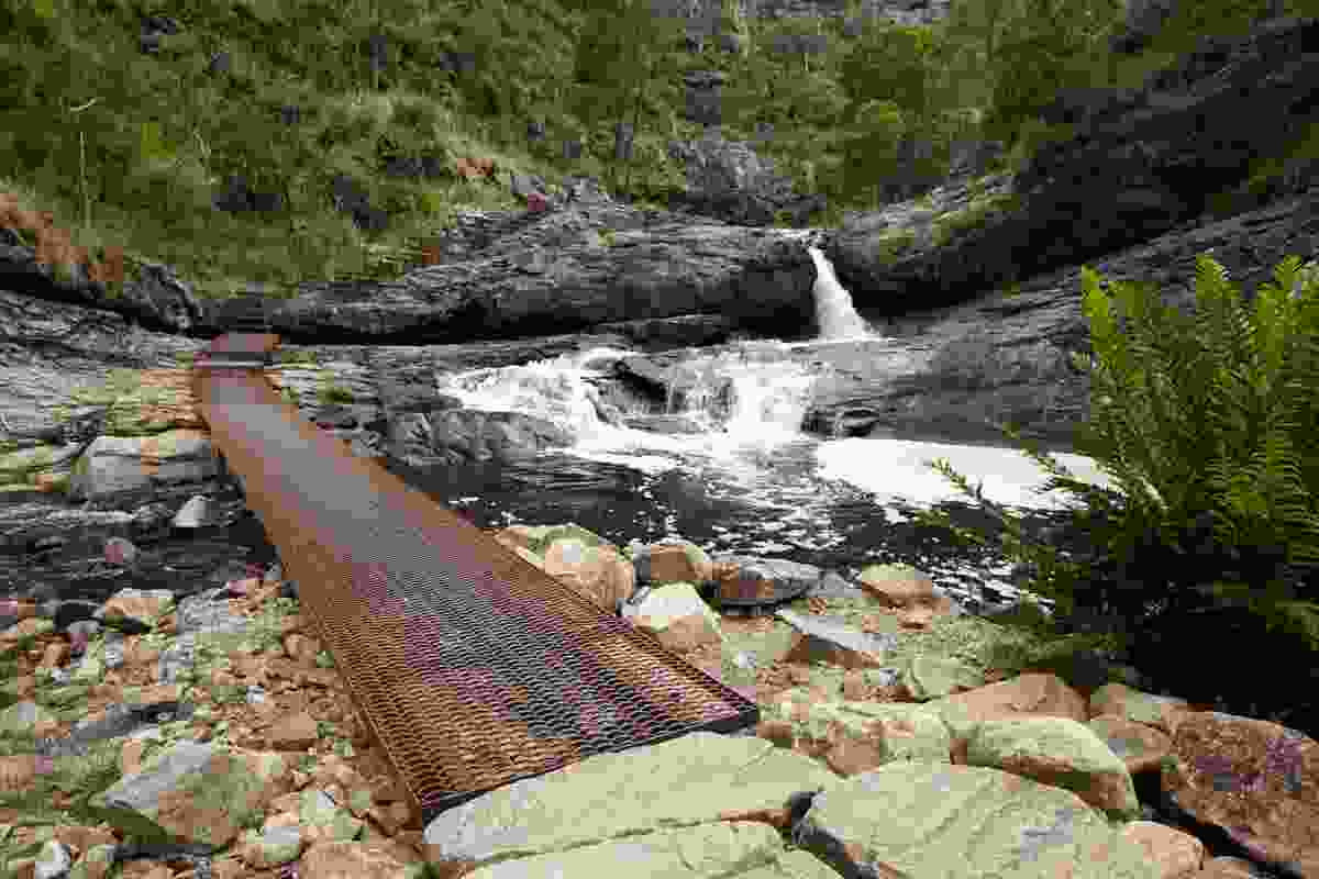 MacKenzie Falls Gorge Trail by Hansen Partnership.