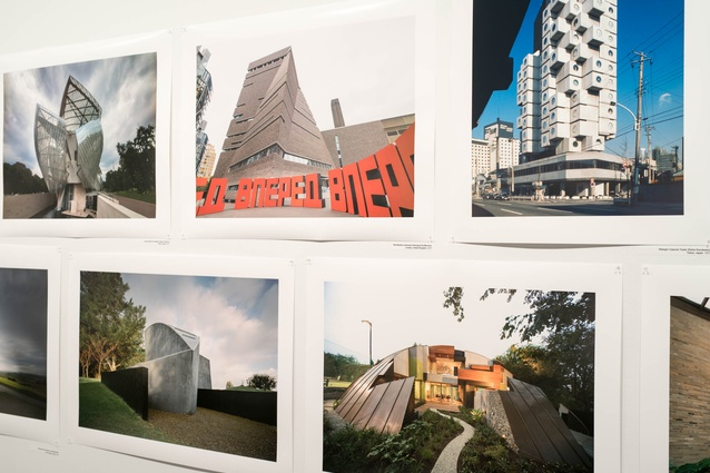 John Gollings photographs of Australian architecture are displayed alongside international architecture.
