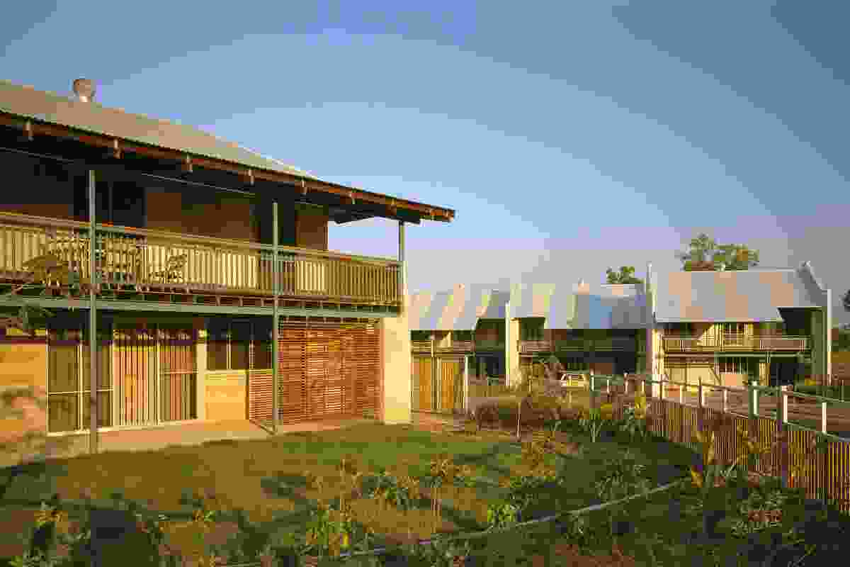 Defence Housing Australia housing at Coonawarra, Darwin, NT, 1992.