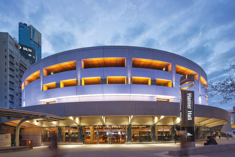 Hamer Hall by ARM Architecture, winner of 2013 Public Architecture Award - Alterations and Additions