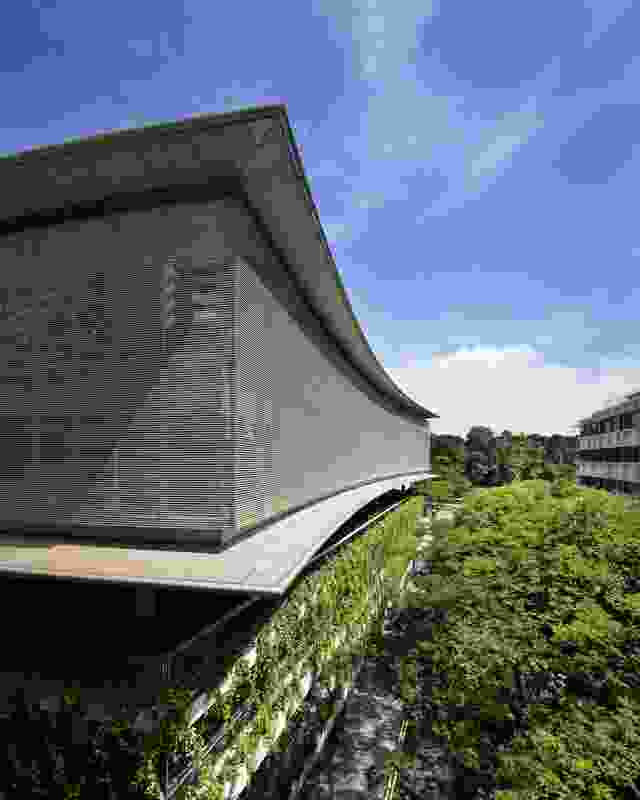NTU Learning Hub 'The Arc' (Singapore) by Richard Kirk Architect with DCA Architects.
