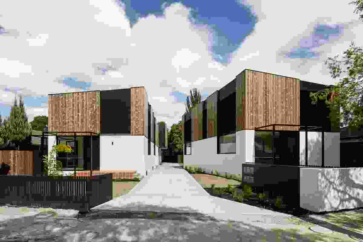 Award for Residential Architecture - Multiple Housing: Salisbury Townhouses by NTF Architecture.