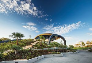 The HOTA Outdoor Stage by ARM Architecture.