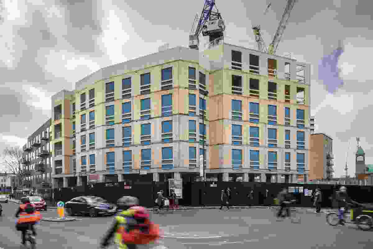 CLT engineer Ramboll has calculated that Dalston Lane will save 2,400 tonnes of carbon, compared with an equivalent block with a concrete frame.