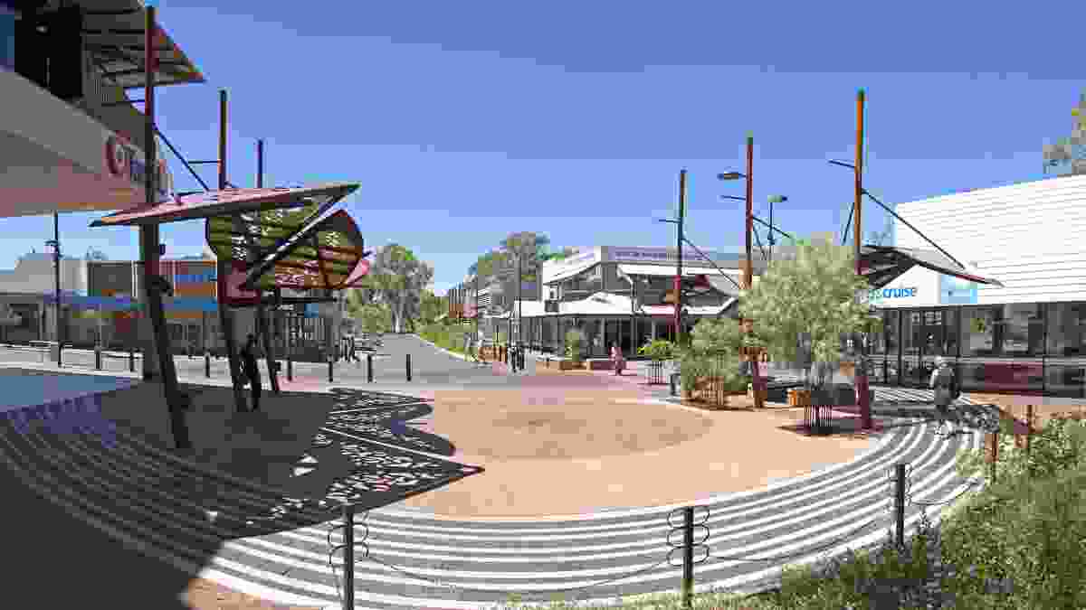 Alice Springs CBD Revitalisation by Susan Dugdale and Associates.