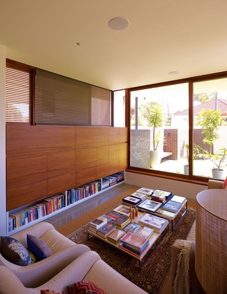 The planning of Waverley House makes clever use of limited space.