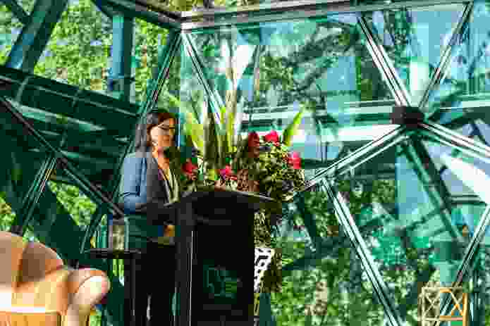 Festival keynote speaker Julia Czerniak spoke of a shift from designing for humans to designing for all living beings.