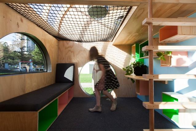 Vardo Hut Cubby by Doherty Design Studio.