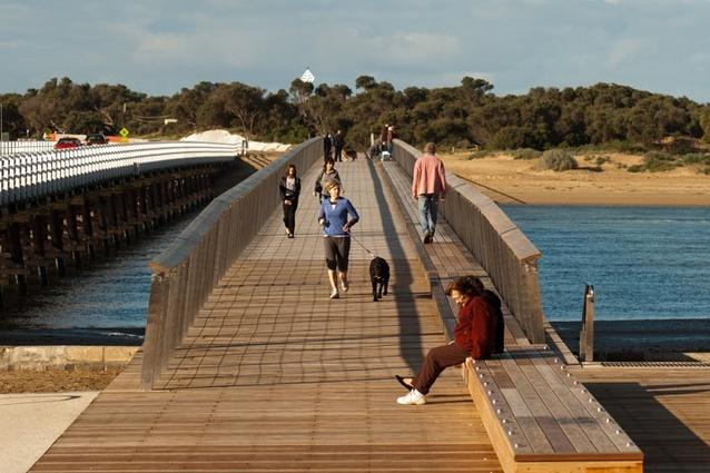 Urban Design Commendation – William Buckley Bridge, Barwon Heads by Peter Elliot Architecture & Urban Design.