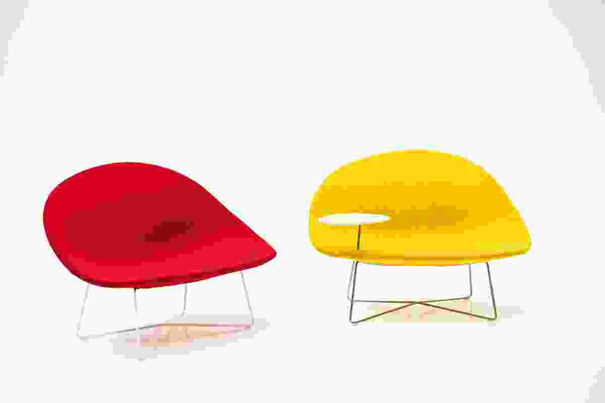Isola chair by Claesson Koivisto Rune for Tacchini.