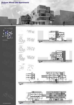 Dickson Mixed Use Apartment by Brenton Reis.