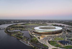 Optus Stadium Park by Hassell.