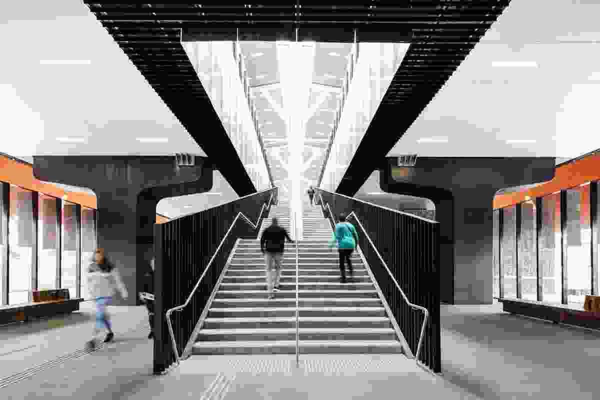 Mernda Rail Extensions - Stations by Grimshaw.