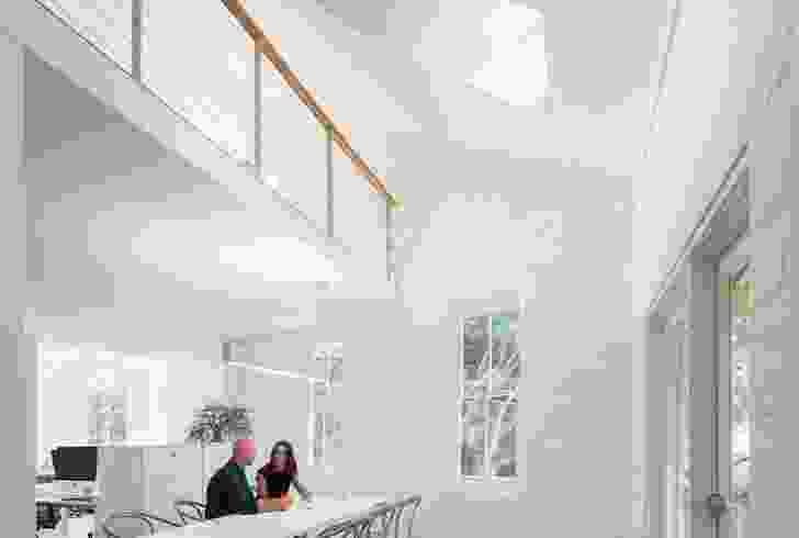 Sean Radford and Alison Nobbs in their Sydney studio.