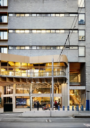 New Academic Street, RMIT University by Lyons Architecture, MvS Architects, NMBW Architects, Harrison and White, Maddison Architects, Taylor Cullity Leathlean.
