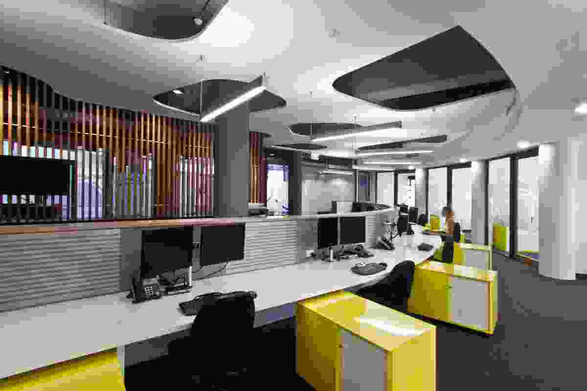 Maxim Workplace by SDA - Space Design Architecture.