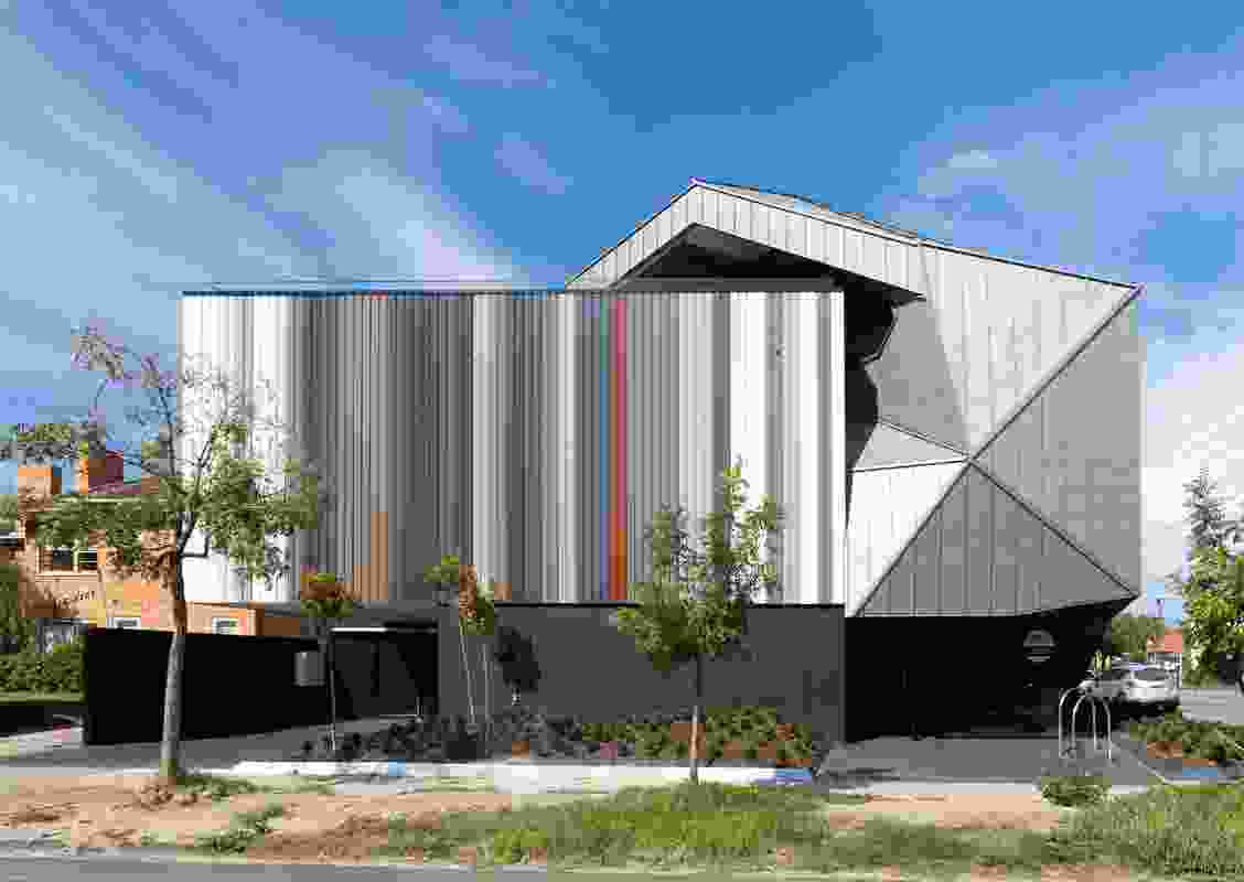 The JAHM house/museum was designed by Elisa Justin of Justin Architecture.