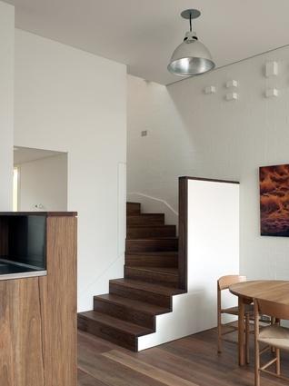 The brickwork features an adaptation of Piet Mondrian's <em>Broadway Boogie Woogie</em>.