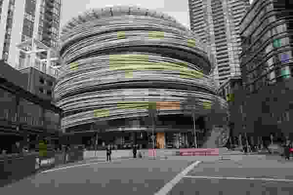 CSR Gyprock products were specified for the Exchange in Sydney's Darling Square. Architect: Kengo Kuma and Associates.