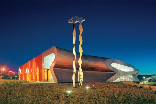 Marion Cultural Centre, Adelaide (2001, with Philips/Pilkington).