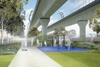 Final designs released for Melbourne 'sky rail' park
