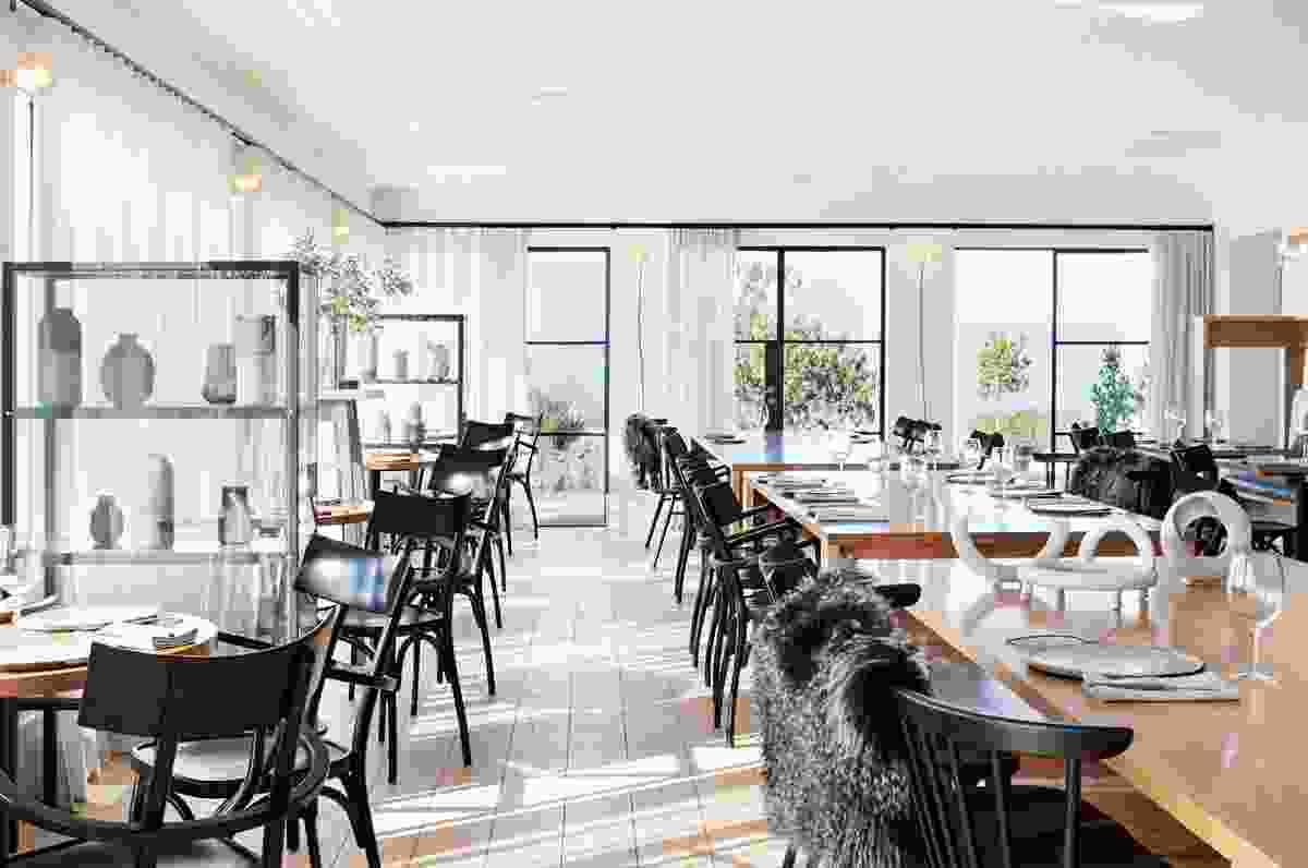 Piermont Restaurant by Hecker Guthrie.