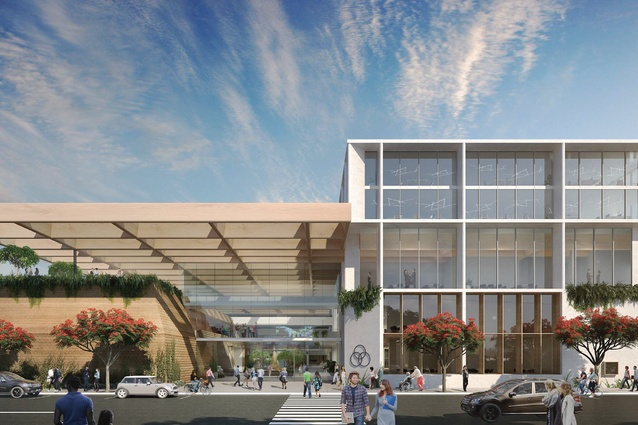 Dominic Finlay Jones Architects' design for the Coffs Harbour cultural and civic space.