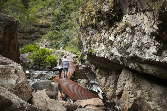 MacKenzie Falls Gorge Trail by Hansen Partnership.