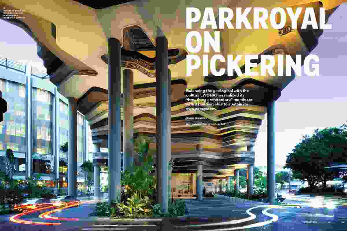 Parkroyal on Pickering by WOHA.
