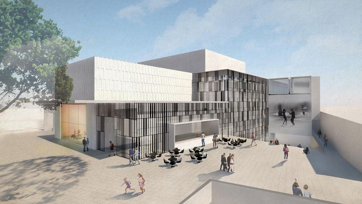 Tamworth Performing Arts Centre and Cultural Precinct concept design by William Ross Architects.