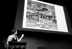 Esther Stam presents at Eat Drink Design Talks.