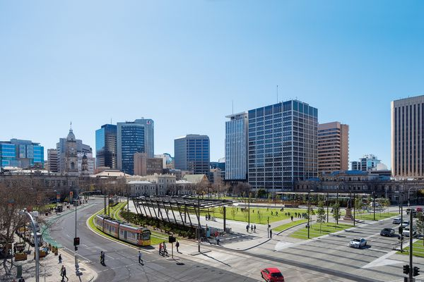 Victoria Square / Tarndanyangga – Stage 1 by Adelaide City Council and Taylor Cullity Lethlean.