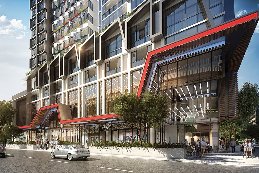 """A Utopia apartment tower in Brisbane is the first in Australia to use self-cleaning """"smart glass"""" that blocks heat and restricts around 99 percent of UV rays."""