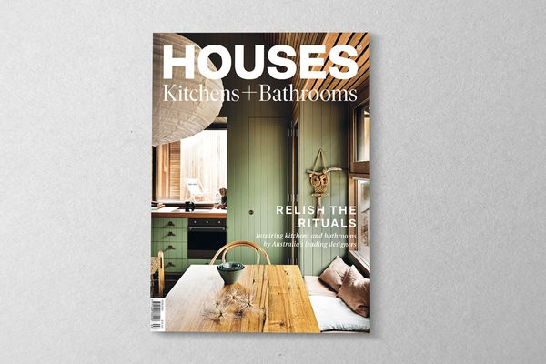 Houses: Kitchens + Bathrooms 15. Cover project – Sandy Point House by Kennedy Nolan.