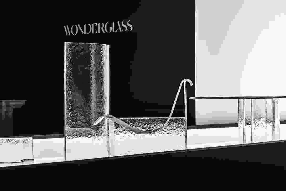 Shape of Gravity by Nendo and Wonderglass.
