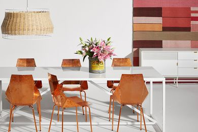 Copper Real Good dining chair from Blu Dot.